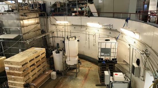 Tekniken för att rena dricksvatten från PFAS testas nu på Hammarby sjöstadsverk.