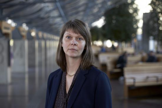 Hanna Björk, hållbarhetschef, Västtrafik.