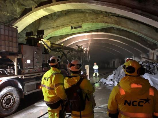 <span>Arbetstunneln Robothöjden kommer att bli 180 meter lång och fungera som tillfartstunnel/servicetunnel när tunnelbanan till Barkarby är färdigställd.</span>