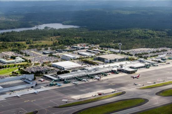 Göteborg Landvetter Airport.