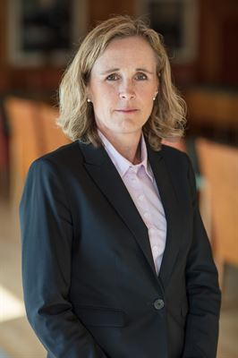 Pia Lagerlöf, generalsekreterare SWEDTRAIN.