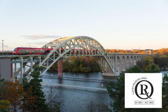 <span>MTR Express är nu certifierade enligt ISO 9001 och ISO 14001 av LRQA Sverige AB.</span>