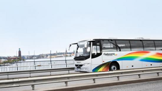 Vy Flygbussarna börjar köra till Bromma flygplats igen.