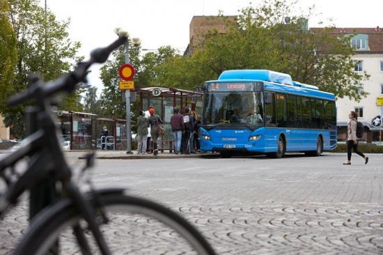 Linje 24 i Trollhättan är en av linjerna som kommer att få elbussar.